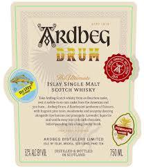 Ardbeg Drum Scotch whisky